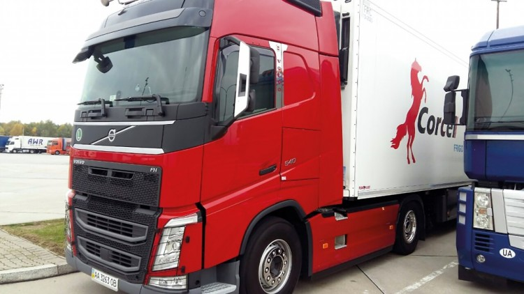 Transporte de productos de textil (Italia-Ucrania)