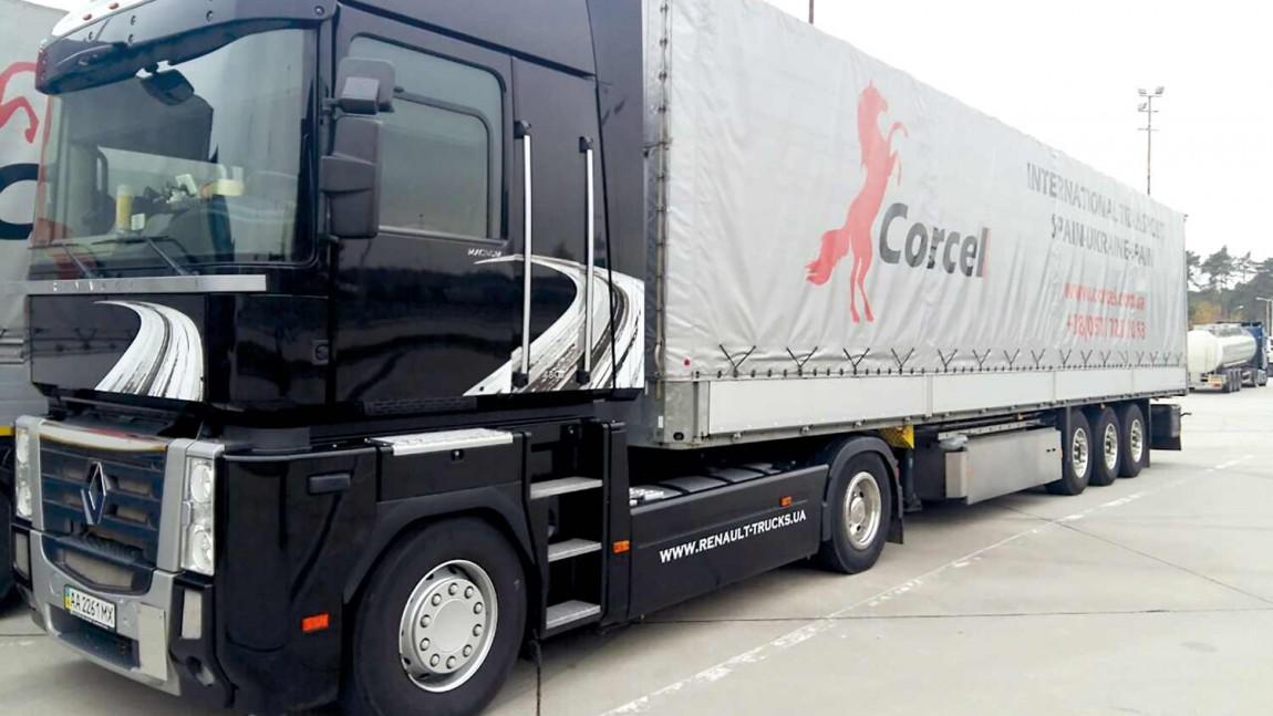El transporte de los plásticos de Italia a Ucrania