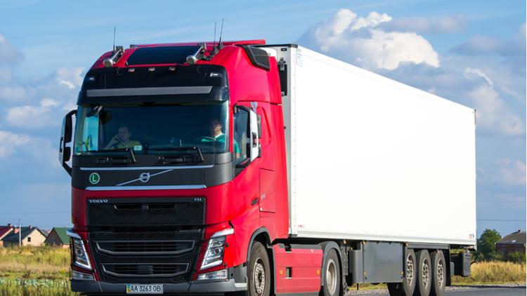 Transporte de productos de confitería hacia Ucrania