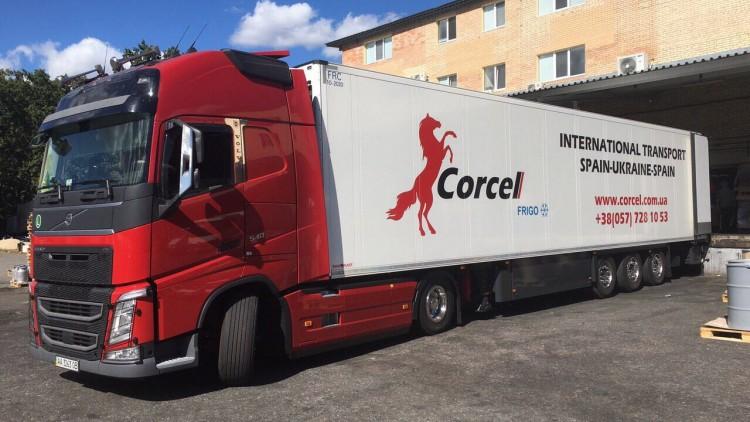 Transporte internacional de aditivos para piensos desde Bélgica