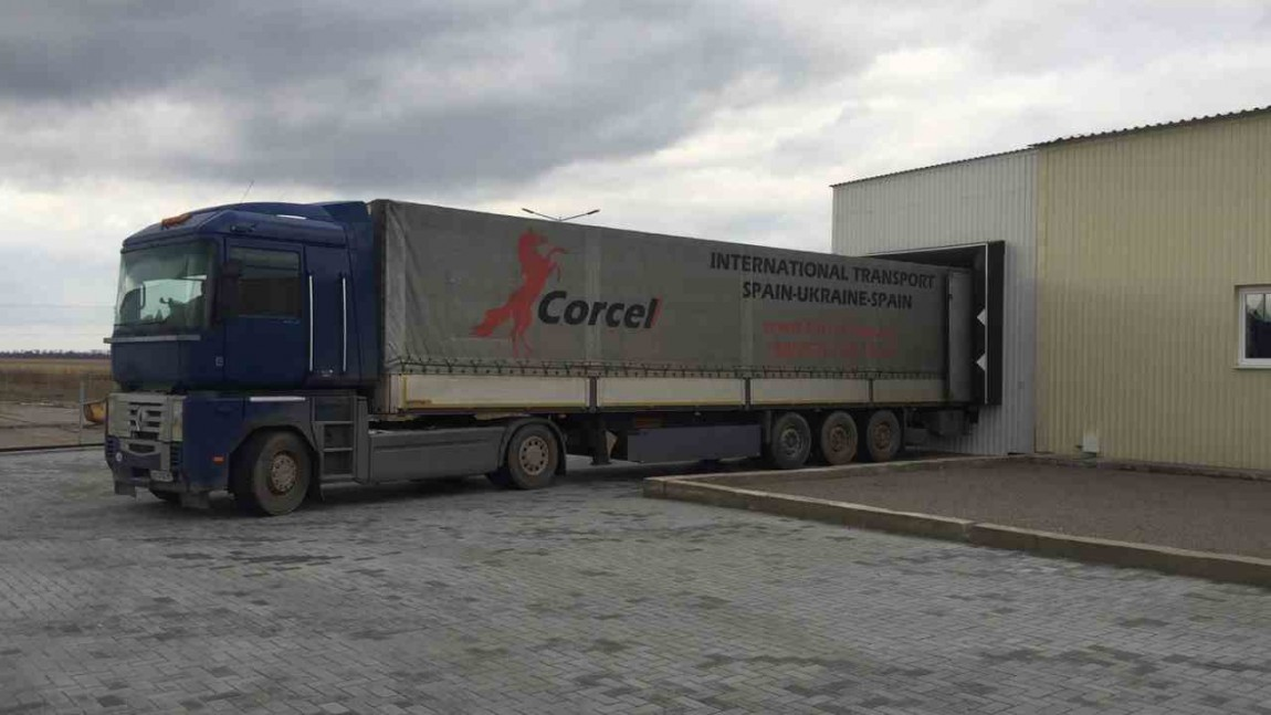 Transporte del oleoducto a Ucrania