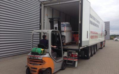 Transporte desde España a fluido hidráulico de Ucrania (ADR 3)
